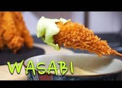 Enlace a Cocinando unos deliciosos crujientes de langostino con mayonesea de Wasabi