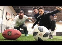 Enlace a ¿Fútbol americano o fútbol clásico? Frente a frente