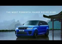 Enlace a La increíble potencia del Range Rover Sport SVR con 575cv