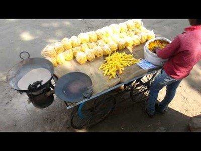 El método que usan en la India para freír patatas sin aceite