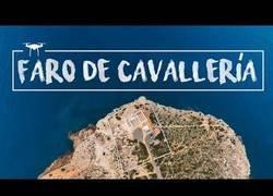 Enlace a El faro más bonito de Menorca visto con DRON