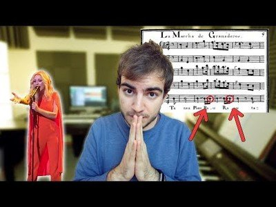 El problema (musical) con el himno de España