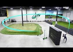 Enlace a Los tipos de Dude Perfect la lían a lo loco con boomerangs