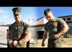 Enlace a El alucinante trabajo de gimnasio de un soldado americano para estar en forma