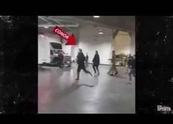 Enlace a La mala reacción de McGregor contra un autobús de la UFC de luchadores