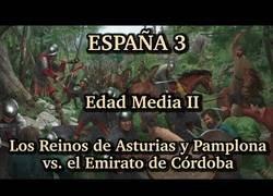 Enlace a La historia del reino de Asturias y el reino de Pamplona