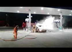 Enlace a Desastre en la gasolinera