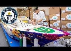 Enlace a Este es el barco más grande del mundo hecho totalmente con piezas de LEGO