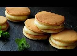 Enlace a La deliciosa receta de Dorayakis con yogur y vainilla