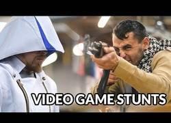Enlace a Recrean los movimientos de lucha más épicos de estos célebres videojuegos