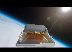 Enlace a Envían un pan de ajo al espacio y lo esperan de vuelta para comérselo