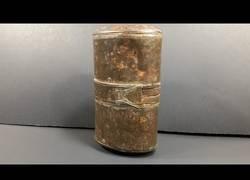 Enlace a Encuentran una lata militar de hace 107 años usada por los solsados británicos
