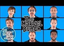 Enlace a Los actores de Infinity War interpretan la mítica canción The Brady Bunch con letra de sus héroes