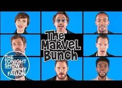 Enlace a Los actores de Infinity War interpretan la mítica canción The Brady Bunch con letra de sus héroes