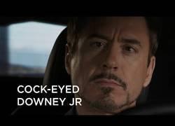 Enlace a La imagen de Robert Downey Jr cambia mucho con el ojo para un lado