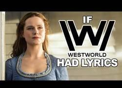 Enlace a Le ponen letra a la canción de la serie Westworld