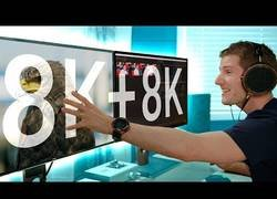 Enlace a Ponen a prueba un setup con dos monitores de 8k