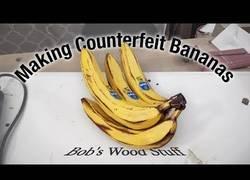 Enlace a Creando unas bananas de madera para trolear a la gente