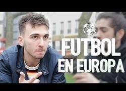 Enlace a Pregunta a jóvenes sobre el fútbol en varios países de Europa