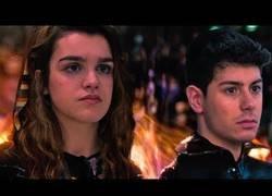 Enlace a Amaia y Alfred en el papel de los protagonistas de Los Juegos del Hambre antes de aventurarse en Eurovisión
