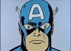 Enlace a Este capítulo del Capitán América de 1966 está dando la vuelta al mundo por el surrealismo de los dibujos