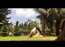 Enlace a Nada mejor que hacer yoga al aire libre nadie interrumpirá y será muy tranquilo