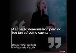 Enlace a Polémica total por como cuenta la historia de Hitler y los judíos esta profesora de Mar del Plata
