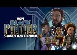 Enlace a Así es como debería haber terminado 'Black Panther'
