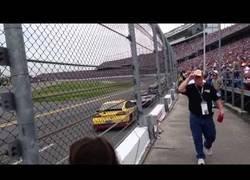 Enlace a El tremendo ruido al ver una carrera de las 500 millas de Daytona justo al lado de la pista