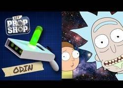 Enlace a Como construir una pistola de portales vista en Rick & Morty