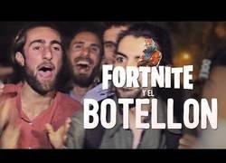 Enlace a Preguntando a los jóvenes españoles sobre Fortnite mientras andan de botellón