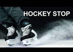 Enlace a Aprendiendo a ir en patines sobre hielo en tiempo récord