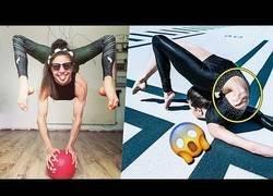 Enlace a Ella es Stephanie Millinger y es la mujer más flexible del mundo capaz de hacer cosas que alucinas