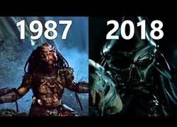 Enlace a Evolución de las pelis de Predator (Depredador)