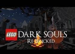 Enlace a Crean un Dark Souls al estilo LEGO y el resultado es brutal