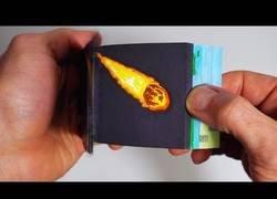 Enlace a Un flipbook alucinante sobre la caída del meteorito que acabó con los dinosaurios