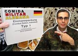 Enlace a Probando comida militar alemana