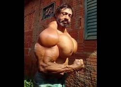 Enlace a Se llama Valdir Segato y nos enseña su musculatura creada en el gimnasio (no)