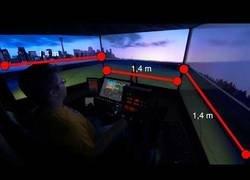 Enlace a El imponente simulador de avión X-Plane 11 con 12k de resolución