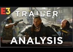 Enlace a El trailer que analiza Cyberpunk 2077