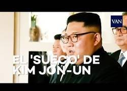 Enlace a La tremenda cara de Kim Jong Un ante las palabras de Donald Trump