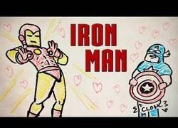 Enlace a El origen de Iron Man en una canción