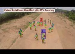 Enlace a Inventan un sistema con drones para localizar gente violenta