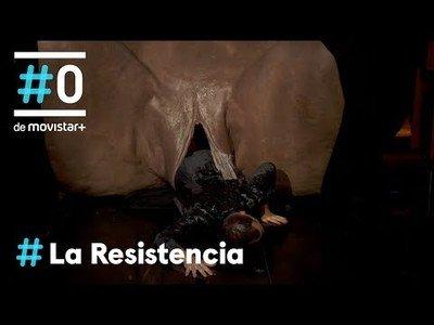 La épica entrada de Jorge Ponce en el plató de La Resistencia
