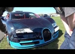 Enlace a El accidente que sufrió esta persona al ir a gran velocidad con un Bugatti Veyron