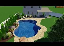 Enlace a El proceso desde cero para construir una piscina en un jardín