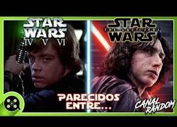 Enlace a Parecidos entre THE LAST JEDI y la saga STAR WARS
