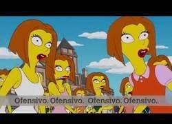 Enlace a Los Simpson criticando la ideología de genero y el feminismo