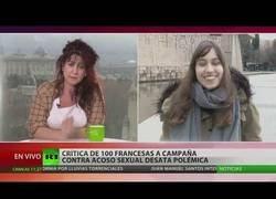 Enlace a Debate entre una mujer real y una feminista en RT