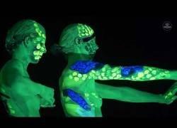 Enlace a El alucinante body painting creado por Johannes Stotetter